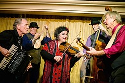 GYPSY SWINGERS:  Café Musique brings their wild classical, swing, folk, and more sounds to D'Anbino's on April 21. - PHOTO COURTESY OF CAFÉ MUSIQUE