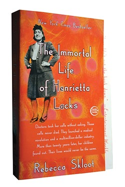 BOOK OF THE YEAR:  Book of the Year committee officials said that The Immortal Life of Henrietta Lacks by Rebecca Skloot was chosen as Cuesta College's Book of the Year because it's a compelling read that brings up important issues about medical practices and health care. - PHOTO COURTESY OF CUESTA COLLEGE