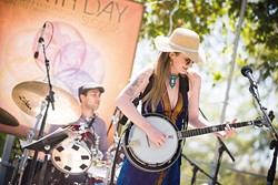 EARTH MAMA:  Musician and activist Erin Inglish is one of several acts playing Earth Day, on April 22 at El Chorro Regional Park. - PHOTO COURTESY OF ERIN INGLISH