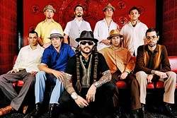 BOOGALOO:  The B-Side Players bring their Latin sounds to Tooth & Nail Winery on June 2, for a free show. - PHOTO COURTESY OF THE B-SIDE PLAYERS