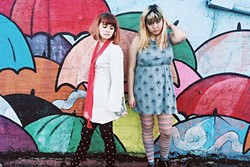 WONDER WOMEN:  Louise Post and Nina Gordon of Veruca Salt are Skating Polly, which plays a three-band female-centric show on June 9, at Sweet Springs Saloon. - PHOTO COURTESY OF SKATING POLLY