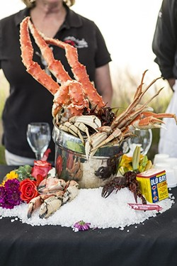 WET AND WILD:  Beverages and bites from more than 40 winemakers, breweries, and local chefs will be served up fresh during the seaside Wine, Waves & Beyond event slated for June 2 to 4 in Pismo Beach. - PHOTO COURTESY OF WINE, WAVES & BEYOND