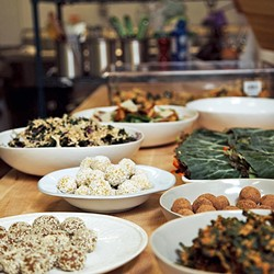 FIRMLY PLANTED:  The Arroyo Grande Village's newest plant-based restaurant, Planted, is offering up crave-worthy spicy black bean burgers; satisfying, seed-topped salads; a rainbow of fresh-pressed juices; bold smoothies; and desserts so magical you won't believe they're actually good for you. - PHOTO COUTRESY OF PLANTED