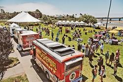 MOBILE MUNCHIES:  Brunch on Wheels brings some of SLO County's best food trucks to Avila Beach. - PHOTO COURTESY OF AVILA BEACH GOLF RESORT
