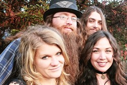 TOAN'S ARMY:  May 1 marks the 10th anniversary of Toan's Open Jam at the Frog and Peach, and he's celebrating with eight bands including the Noach Tangeras Band (pictured). - PHOTO COURTESY OF THE NOACH TANGERAS BAND
