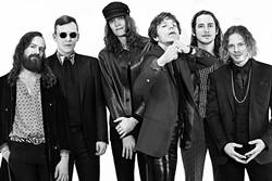 AMERICAN EX-PATS:  Grammy Award-winning rock act Cage the Elephant, which formed in Kentucky but moved to London before their first album was released, plays the Fremont Theater on April 14. - PHOTO COURTESY OF CAGE THE ELEPHANT