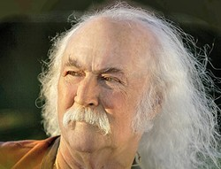 LEGENDARY :  The amazing David Crosby plays the season opening show at Vina Robles Amphitheatre on April 25. - PHOTO COURTESY OF DAVID CROSBY