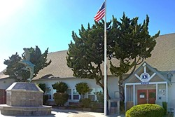 UPGRADES :  The Cayucos Veterans Hall was condemned in May of 2016 after the outdated building didn't meet county standards, leaving the Lions Club and other local events without a venue. - PHOTO BY KAREN GARCIA