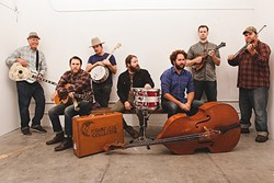 FOLK YEAH! :  Moonsville Collective headlines the 10-act Central Coast Folk Festival on May 6, in Los Osos' Red Barn. - PHOTO COURTESY OF MOONSVILLE COLLECTIVE
