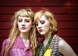 STRAIGHT SHOOTIN' HARMONIES Americana-folk duo Annie Oakley plays Linnaea's Cafe on June 16. - PHOTO COURTESY OF ANNIE OAKLEY