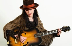 POP CHANTUESE Emily Franklin will release her new album, Emily By The Bay, on June 19, in Baywood's Back Bay Café. - PHOTO COURTESY OF EMILY FRANKLIN