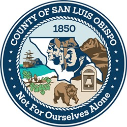 WHO'S IN CHARGE? Despite meeting four times in closed sessions to discuss replacements for resigned Chief Administrative Officer Dan Buckshi, the SLO County Board of Supervisors has not named his interim replacement. - IMAGE COURTESY OF SLO COUNTY