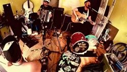 RUSTBELT ROOTS Irish-American folk rock duo Tail Light Rebellion plays Frog and Peach on June 24. - PHOTO COURTESY OF TAIL LIGHT REBELLION