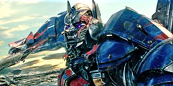 CHAOS Optimus Prime (voiced by Peter Cullen) turns bad under the spell of the sorceress who made him and threatens to destroy Earth. - PHOTO COURTESY OF PARAMOUNT PICTURES AND HASBRO