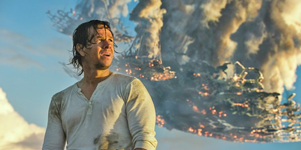 INCOHERENT Cade Yeager (Mark Wahlberg) tries to save the Autobots from Earthlings, Decepticons, a sorceress named Quintessa, a turncoat Optimus Prime, and film reviewers everywhere. - PHOTO COURTESY OF PARAMOUNT PICTURES AND HASBRO