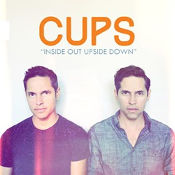 """HOT SUMMER SINGLE! Twin brothers Damon and Dominic Castillo have teamed up under the name CUPS to release a terrific summer single, """"Inside Out Upside Down,"""" available on iTunes, YouTube, Bandcamp, Spotify, and Facebook."""