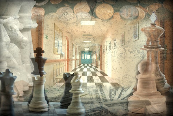 The Current State of the Chess Set - ILLUSTRATION BY EVA LIPSON