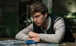 GO, BABY, GO! In Baby Driver, a young getaway driver (Ansel Elgort) is forced to work for a crime boss (Kevin Spacey). - PHOTO COURTESY OF SONY PICTURES