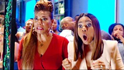 LADIES NIGHT In Girls Trip, four life-long friends hit New Orleans for a get away that goes awry. - PHOTO COURTESY OF UNIVERSAL PICTURES