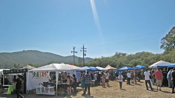 A GROWING COMMUNITY Thirty-seven local growers and 26 extractors competed in the first SLO Cannabis Cup on July 22, hosted by nonprofit SLO County NORML. - PHOTOS BY ERICA HUDSON