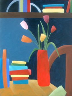 LOVE OF LITERATURE Artist Anne Seltzer's passion for libraries stems from studying literature for her undergraduate degree. - IMAGE COURTESY OF ANNE SELTZER
