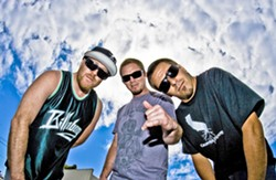 SUMMER SOUNDS SoCal skate-punk and ska act Slightly Stoopid headlines the four-act Sounds of Summer Tour at the Avila Golf Resort on Aug. 6. - PHOTO COURTESY OF SLIGHTLY STOOPID