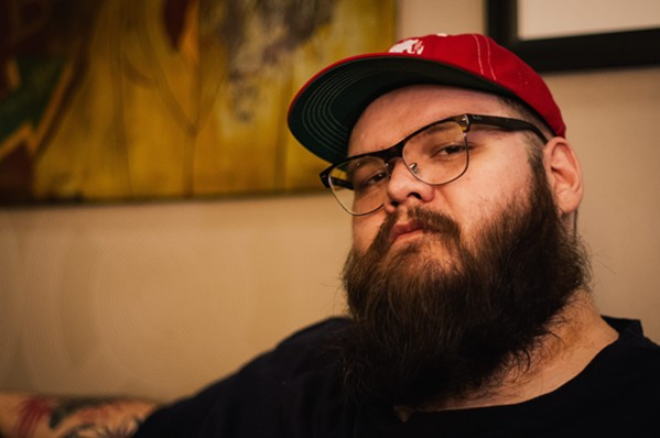 JOYOUSLY SAD Amazing singer-songwriter John Moreland plays BarrelHouse Brewing on Aug.13. - PHOTO COURTESY OF JOEY KNEISER