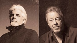 UNMISTAKABLE VOICES Seventies rock stars Michael McDonald and Boz Scaggs play Vina Robles Amphitheatre on Aug. 16. - IMAGE COURTESY OF MICHAEL MCDONALD AND BOZ SCAGGS