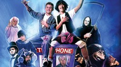 BODACIOUS A young Keanu Reeves (right) co-stars with Alex Winter in the classic film Bill and Ted's Excellent Adventure. - IMAGE COURTESY OF ORION PICTURES CORPORATION