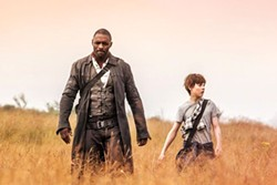 THE GOOD GUYS Gunslinger Roland (Irdris Elba, left) and Jake Chambers (Tom Taylor) join forces to save the Dark Tower, which protects the universe. - PHOTOS COURTESY OF SONY PICTURES ENTERTAINMENT