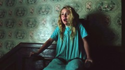 RUN! Janice (Talitha Bateman) becomes the target of a possessed doll. - PHOTO COURTESY OF NEW LINE CINEMA