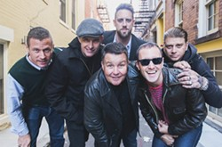 BEAN TOWN PUNKS Dropkick Murphys (pictured) join Rancid, The Selecter, and Kevin Seconds on Aug. 18, at the Avila Beach Golf Resort. - PHOTO COURTESY OF GREGORY NOLAN