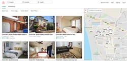 THE TAX MAN COMETH SLO County is turning to Airbnb to help it collect occupancy taxes from locals who use the popular app to rent out their rooms and homes. - SCREEN SHOT OF AIRBNB.COM BY CHRIS MCGUINNESS