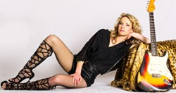 THREE IN ONE Serbian-born guitar-playing singer Ana Popovic gets funky, bluesy, and jazzy at The Siren on Tuesday, Sept. 5. - PHOTO COURTESY OF ANA POPOVIC