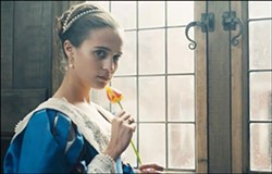 LOVE In Tulip Fever, a young couple hoping to start a new life enters the tulip market in Amsterdam. - PHOTO COURTESY OF THE WEINSTEIN COMPANY