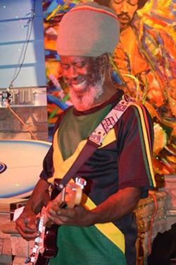 """FREE MUSIC Reggae acts like Ras Danny and the Reggae All Stars frequently stop by the Frog & Peach Pub in downtown SLO. - PHOTO COURTESY OF DERRICK """"RAS DANNY"""" REID"""