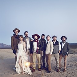 FROM VINTAGE AMERICANA TO SOULFUL FUNK The Dustbowl Revival plays Morro Bay's The Siren on Sept. 22, showcasing their evolved style. - PHOTO COURTESY OF TALLEY MEDIA