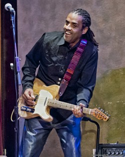 BAYOU BLUES Baton Rouge bluesman Kenny Neal plays the SLO Blues Society show on Sept. 23, at the SLO Vets Hall. - PHOTO COURTESY OF KENNY NEAL