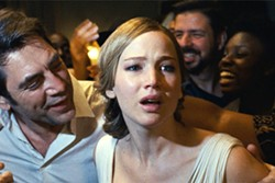 UNIVITED GUESTS A couple (Javier Bardem and Jennifer Lawrence) find their tranquil life disrupted by uninvited guests who arrive at their secluded house. - PHOTO COURTESY OF PROTOZOA PICTURES