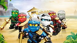 LEGO TIME Ninja warriors must defeat an evil warlord in the animated film, The Lego Ninjago Movie. - PHOTO COURTESY OF WARNER BROS. PICTURES
