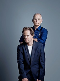 AMERICAN LIT 101 Cellist Jan Vogler and actor Bill Murray will present an evening of American song and literature on Oct. 8 at the Performing Arts Center. - PHOTO COURTESY OF PETER RIGAUD