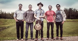 GATHER 'ROUND! The Brothers Comatose (pictured), Mipso, and The Lil Smokies play the Campfire Caravan, a three-band anything-can-happen show at BarrelHouse Brewing on Oct. 4. - PHOTO COURTESY OF THE BROTHERS COMATOSE