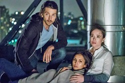 THE EDGE In Flatliners, a group of med students experiment with death. - PHOTO COURTESY OF COLUMBIA PICTURES