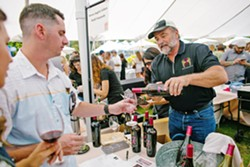GATHERING Farmers and wine enthusiasts alike can come together and taste local wine at Harvest on the Coast. - PHOTO COURTESY OF HEATHER MURA
