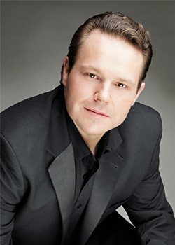 SELF-SERVING Christopher Bengochea plays Pinkerton, the American naval officer out for conquest of country and women in OperaSLO's production of Madama Butterfly. - PHOTO COURTESY OF OPERA SLO