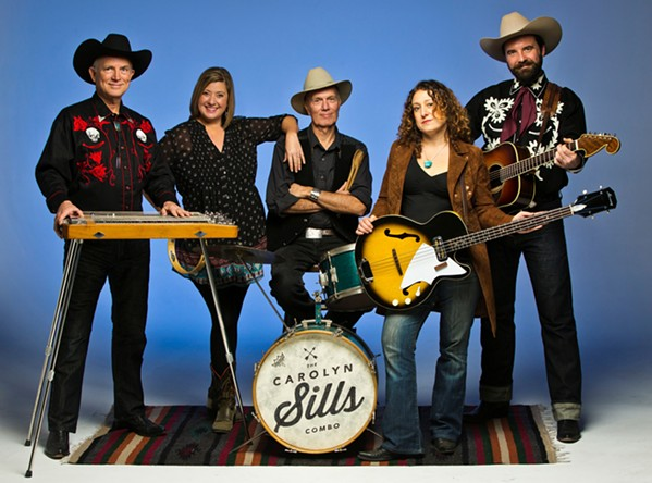 WESTERN SWINGERS The Carolyn Sills Combo brings their Bob Wills- and Patsy Cline-inspired sounds to The Siren on Oct. 13. - PHOTO COURTESY OF THE CAROLYN SILLS COMBO