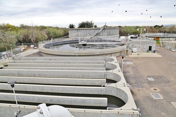 CHANGES Wastewater plant Superintendent John Clemons is leaving his post at the South SLO County Sanitation District. He will a receive $150,000 severance payment as part of a separation agreement with the district. - FILE PHOTO