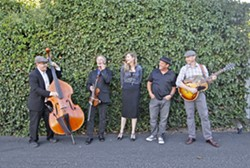 BRINGING THE HEAT! The Tipsy Gypsies (pictured) will compete against 33RPM, The Creston Line, Wordsauce, and Tropo at the NTMAs on Nov. 3, in the Fremont Theater. - PHOTO COURTESY OF THE TIPSY GYPSIES