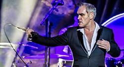 STEVEN PATRICK Former Smiths Frontman Morrissey will bring his solo show to Vina Robles Amphitheatre on Nov. 5, in support of his new album Low in High School. - PHOTO COURTESY OF MORRISSEY