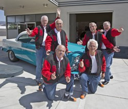 DOO-WOPPERS The Bald Spots will bring their vocal prowess to Trilogy on Nov. 3, playing '50s and '60s classics. - PHOTO COURTESY OF ASHALAL LAWLER